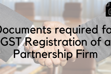 Partnership Firm GST Documents